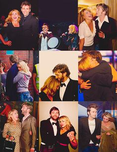 David and Billie being completely adorable.