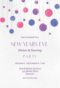 new year invite templates free