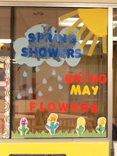 Classroom decorations for spring , preschool, infant and toddlers
