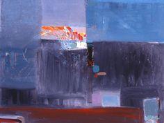 "Saatchi Art Artist: Grosaru Marcel; Mixed Media 2013 Painting """"Paysage métaphysique"""""
