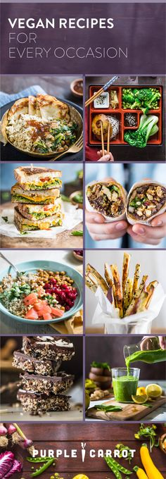 These easy vegan recipes are healthy and delicious. Explore a vast array of vegan dinner recipes, vegan dessert recipes, vegan snack recipes, and more!