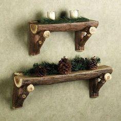 50 Ideas decorativas y útles para hacer con troncos de madera.