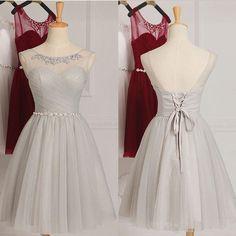 Gehorsam Weiß 2019 Homecoming Kleider A-linie V-ausschnitt Cap Sleeves Spitze Perlen Short Mini Elegante Cocktail Kleider Weddings & Events