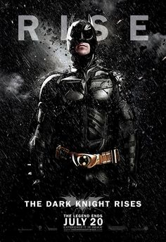 The Dark Knight Rises (2012) V004 on Premium Photo Paper 27 x 40