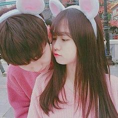 So cute❤ couple Cute Korean, Korean Girl, Asian Girl, Korean Couple, Best Couple, Ulzzang Couple, Ulzzang Girl, Cute Couples Goals, Couple Goals
