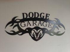 DODGE GARAGE SIGN by SCHROCKMETALFX on Etsy, $40.00