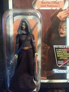 Star Wars™- Barriss Offee™ (Jedi Padawan™) #KennerLogo   Ebay ID  debpark94_attic   Ebay ID  tigerllc24   for more wonderful gifts!