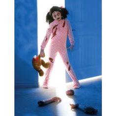 LittleGirl Scary Zombie Costume autumn maybe?