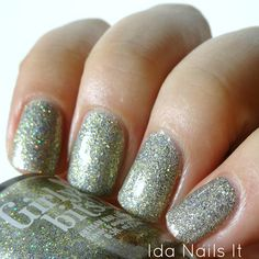 Ida Nails It: Girly Bits Cosmetics Anniversary Crashers- Part of the What Really Happened in Vegas collection.