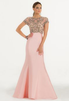 Beaded Bodice with T