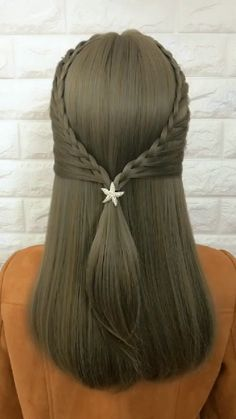 Casual Hairstyles For Long Hair, Haircuts Straight Hair, Work Hairstyles, Braided Hairstyles, Front Hair Styles, Medium Hair Styles, Curly Hair Styles, Natural Hair Styles, Hair Style Vedio