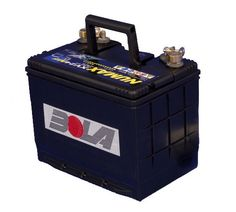 BOLA 12v power supply battery. Works with both the BOLA Professional and BOLA Club cricket machines. Will power an average of 6-8 hours per charge. Can be charged with the BOLA mains pack, or any standard battery charger.