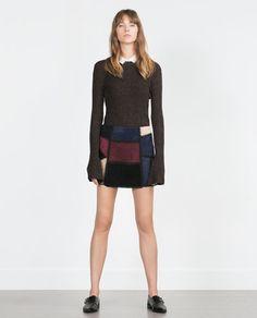 Image 1 of CREW NECK SWEATER from Zara
