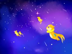 Buizel's in Space. by SoundofColour on DeviantArt