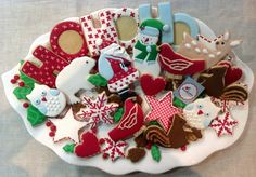 Cookieria By Margaret: Natal na Floresta...Escolhendo os Cookies