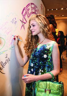 Elena- Rebecca Minkoff fashion show