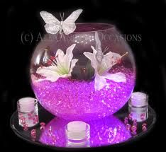 fish bowl wedding decorations - Google Search