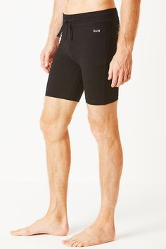 5fc4d92c01 Enduro Bamboo Compression Shorts - Black Compression Shorts, Swim Trunks,  Bamboo, Swimsuit. Bamboo Clothing