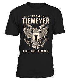 Team TIEMEYER Lifetime Member