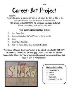 Career Art Project - http://cartoonphotocollections.blogspot.com