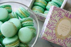 A qué huele mi cocina ...: ... a macarons de manzana verde