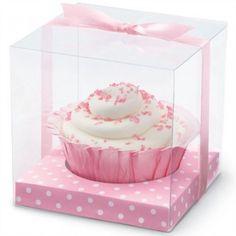 Cajitas individuales para #cupcakes