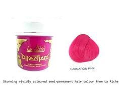 La Riche Directions Semi-Permanent Hair Colour 88ml x 2 tubs Carnation Pink La Riche http://smile.amazon.com/dp/B005O7ZT6O/ref=cm_sw_r_pi_dp_iIwTtb1GDPZBR9MR