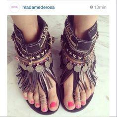 Sandals by Emonk Ibiza - OMGOSH I WANT THESE SOOO BAD!!!!!