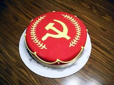 #cake #birthday #communism #foodporn #svetlanas