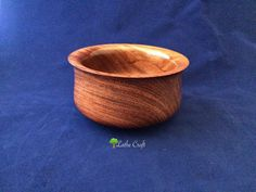 Bowl in Bubinga