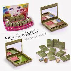 Swatches und Reviews der neuen alverde LE Mix & Match :)