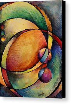 Abstract Design 82 by Michael Lang - Abstract Design 82 Painting - Abstract Design 82 Fine Art Prints and Posters for Sale Circle Art, Art Moderne, Art Pages, Geometric Art, Amazing Art, Fine Art America, Canvas Art, Canvas Prints, Art Prints