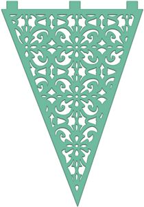 Not quite right, but lovely. Silhouette Online Store - View Design #14606: lace bunting