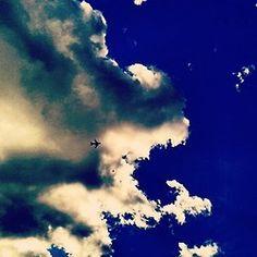 #Avión #airplane #Flug #Flugzeug #Sky #Himmel #cielo #nubes #clouds #Wolken