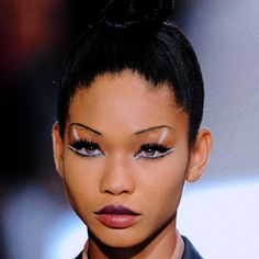 chanel iman @ marc jacobs spring 2010