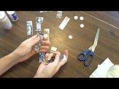 TUTORIAL-Crafts- Glue techniques for microscope slide pendants