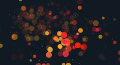 Gravitation Explosion Particles