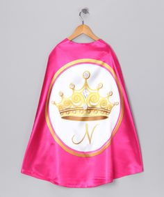 Personalized #Princess Cape from Razzle Kids on #zulily