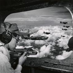 US Navy B25's and Corsairs