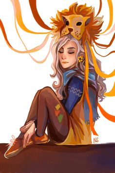 Luna Lovegood by nastjastark on @DeviantArt