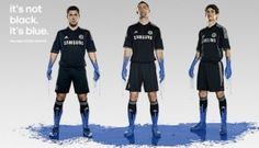 New Chelsea Third Strip 13 14