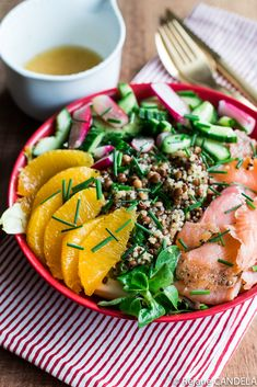 Assiette Complète Vitamine C - Food for Love Plat Vegan, Meat Recipes, Healthy Recipes, Buffet, Warm Food, Cold Meals, Slow Food, Seaweed Salad, Food Plating