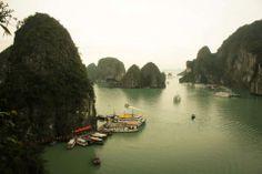 Ha Long Bay in Vietnam!!!