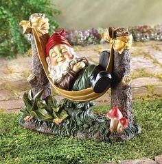 decorate your gardon with Mystical garden Gnomes :)