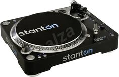 Stanton USB Direct Drive Turntable - With a USB port, a full complement of editing software, and high-torque, the is an efficient and reliable means for transferring your vinyl to computer. Usb Turntable, Direct Drive Turntable, Vinyl Record Collection, Dj Gear, 3d Studio, Toned Arms, 3d Max, Audio Equipment, Vinyls