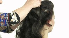 WOW Pony Fall by Daisy Fuentes. How to apply a clip on ponytail, pocket ...