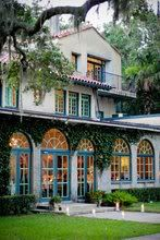 club continental - Lucky enough to have several anniversary dinners by the window looking out over the patio to the St. Johns River.