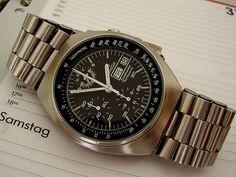 Omega Speedmaster, Speedmaster Professional, Vintage Watches, Chronograph, Omega Watch, Milan, Watches For Men, Accessories, Design