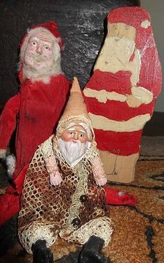 Ho-ho-homeless Santas. (Thanks to Gary for that one.)
