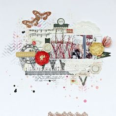 How to Create Mixed Media Layers by Guest Designer Christin Gr�nnslett 2013
